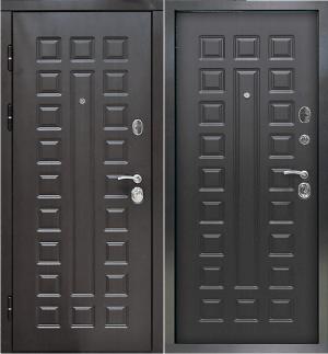 Входная дверь Снедо Сенатор 2К винорит венге/венге