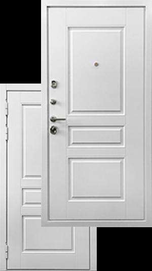Входная дверь Ратибор Сноу 3К Силк сноу