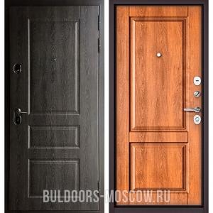 Входная дверь Бульдорс STANDART-90 Дуб графит 9SD-2/Карамель 9SD-1