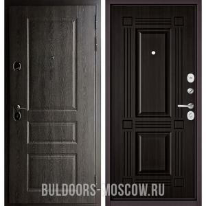 Входная дверь Бульдорс STANDART-90 Дуб графит 9SD-2/Ларче темный 9S-104