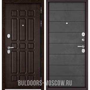 Входная дверь Бульдорс STANDART-90 Дуб Шоколад 9S-111/Бетон темный 9S-135 31,450.0