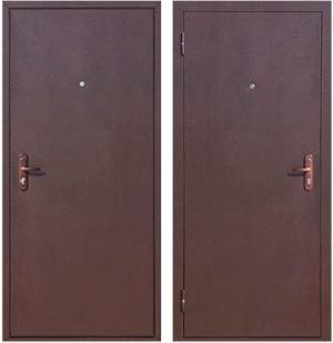 Входная дверь Снедо Стройгост 5-1 Металл / Металл