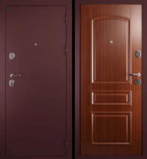 Входная дверь Сударь-3 CISA (брусника)