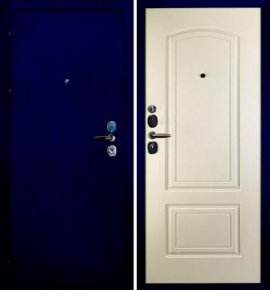 Входная дверь Сударь-4 CISA (синий)