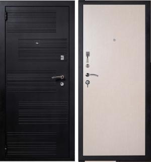 Входная дверь Гранит Т1 дуб беленный