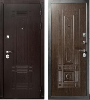 Входная дверь Гранит Т2 Люкс венге