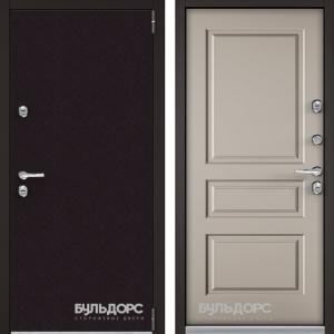 Входная дверь Бульдорс TERMO-3 Горячий шоколад/Кремовый ликер TD-2.3
