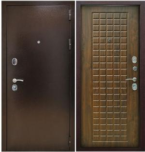 Входная дверь Снедо Титан 3К Винорит Грецкий орех