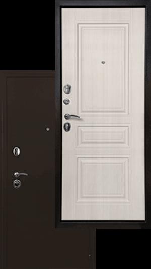 Входная дверь Ратибор Троя 3К Лиственница беж