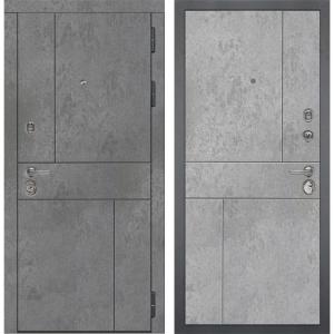 Входная дверь Дива МД-48 М-1 (Бетон Темный / Бетон Светлый)