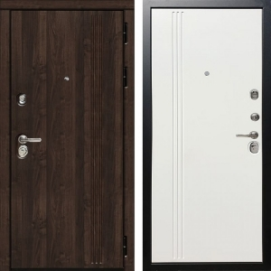 Входная дверь Дива МД-27 (Алмон 28 / Белое дерево)