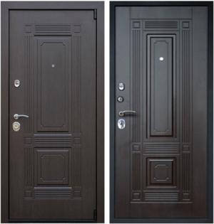 Входная дверь АСД  Викинг Венге
